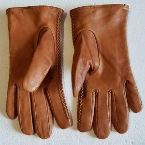 ZARA Accessories Leather Gloves