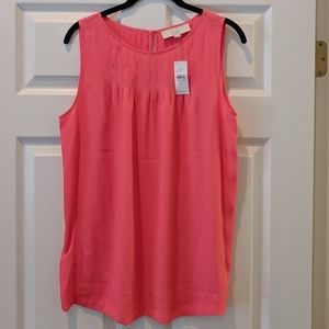 NWT Ann Taylor LOFT sleeveless top size Medium