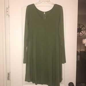 Dresses & Skirts - Casual T-shirt dress, size XL, NWT