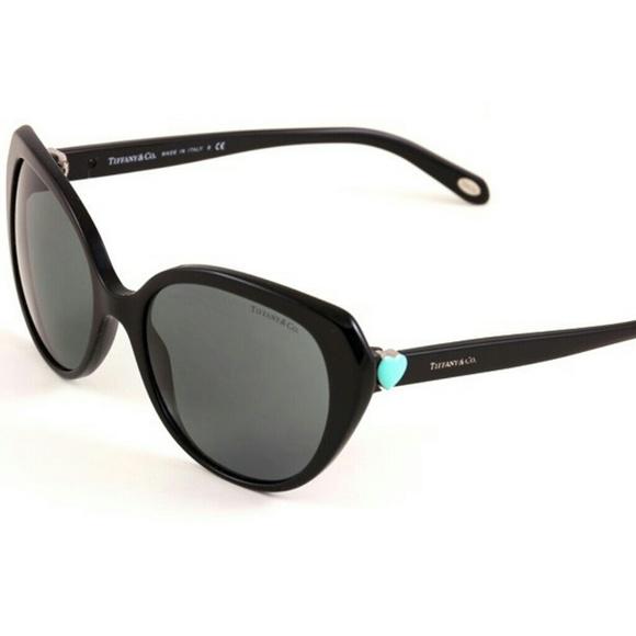 8d5a5a04af14 EUC Tiffany   Co 4088 Black Gray Sunglasses w case.  M 5a13b4d15c12f8e559008fde