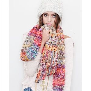 💫Fairytale Forest Crochet Scarf by Free People💫