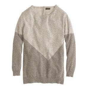 J.Crew - 100% Cashmere Button Back Sweater