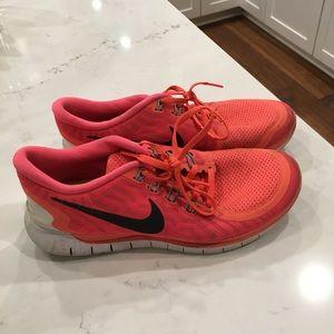 Worn Nikes