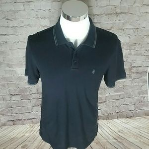 John Varvatos USA Peace Icon Large polo