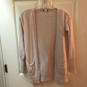 💕light pink JCrew Button up cardigan size small