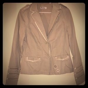 Ben Sherman light gray blazer jacket