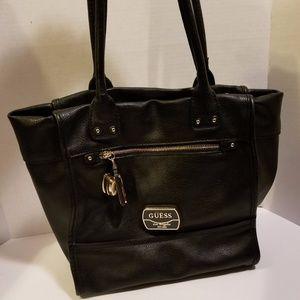 GUESS black shoulder purse