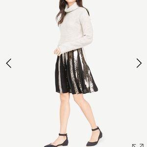 Ann taylor Sequins Full skirt