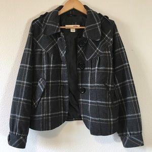 Cozy Plaid Jacket