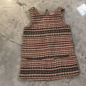 Perfect for Thanksgiving!  Infant Tweed Dress