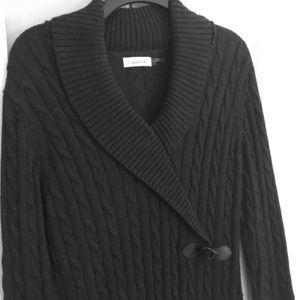 Charcoal grey Calvin Klein sweater dress!