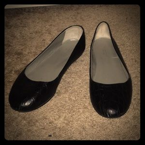 Garnet Hill (made in Italy) Genuine Leather Flats