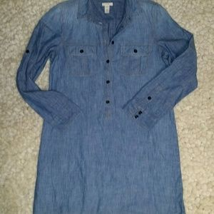 J. Crew Denim Dress