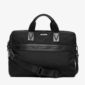 Michael Kors Mens Parker Large Nylon Briefcase
