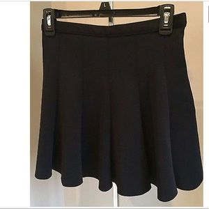 ABERCROMBIE & FITCH Black Slater Skirt