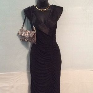 Black Evening Dress Scarlett Nite