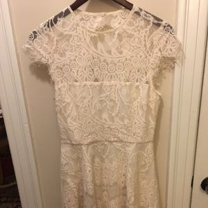 BB Dakota cream dress, size 4, NWT