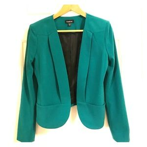 Bebe - cropped green jacket