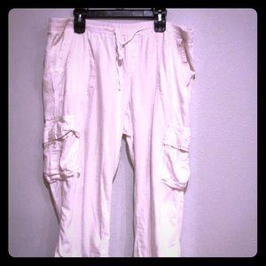 Old Navy Baggy Cotton Capri Pants