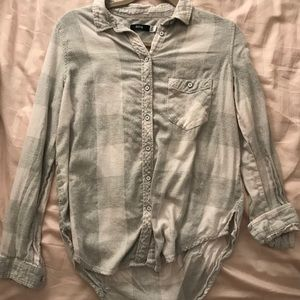 White & gray flannel from Urban outfitters