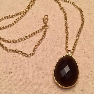 Stella & Dot Reversible Long Pendant Necklace