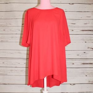 Vince Camuto High Low Tunic Blouse
