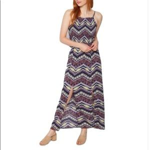 🆕 Aztec Split Skirt Maxi Dress