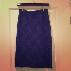 Gorgeous Anthropologie Lace Pencil Skirt by Maeve
