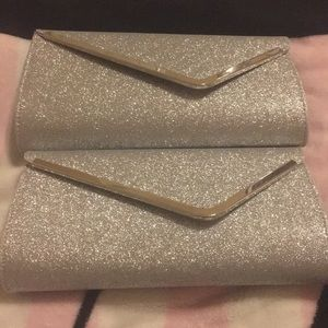Bundle of 2 Silver Clutches