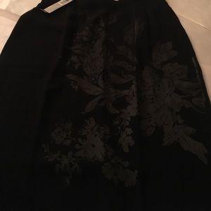 Anne Klein silk skirt