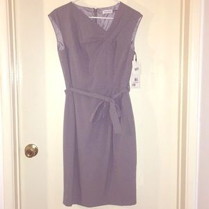 BRAND NEW!! Calvin Klein gray dress