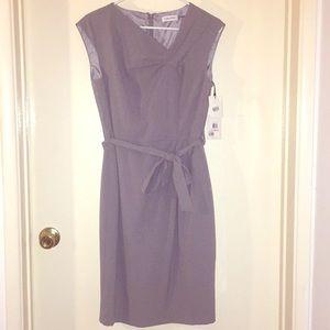 BRAND NEW!! Calvin Klein gray dress