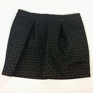 Women's Old Navy Brocade Mini Skirt Size 10
