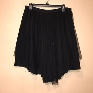 EUC Topshop Sequin and Tulle Skirt.