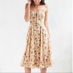 Urban outfitters cooperative floral midi dress