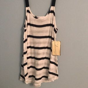 Vintage Havana Striped Knitted Tank