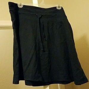 NWT Women's XXL merona cotton blue skirt