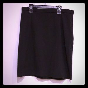 Sag Harbor Woman Black A-Line skirt