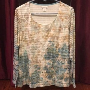 Coldwater Creek soft knit top -Size XL/16 NWT