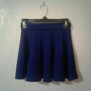 Dresses & Skirts - Blue Mini High Waisted Skirt