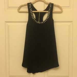 Expressed Jeweled tank