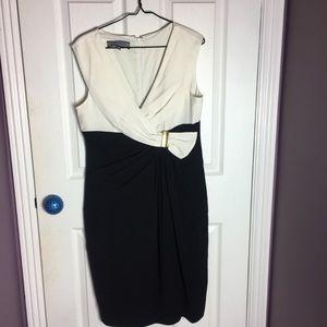 ❤️ Beautiful black and white dress ❤️