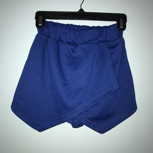 Blue Envelope Mini Skort