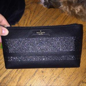 Kate Spade ♠️ little Shiloh Black ✨ glitter bag