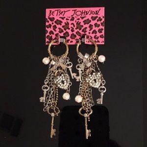 New Betsey Johnson Chandelier Earrings.