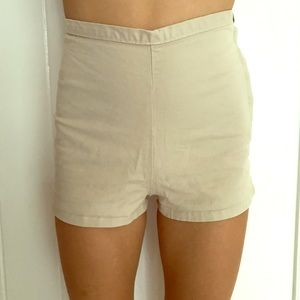 American Apparel high waisted shorts