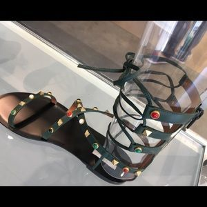 Limited edition Valentino rock stud sandals