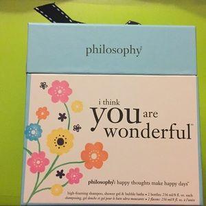 Philosophy Gift Set - Mandarin Orange &Cherry
