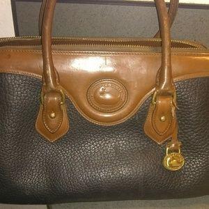 "Authentic ""Dooney & Bourke"" Vintage Leather Bag"