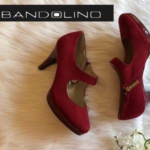 Bandolino Classic Red Heels